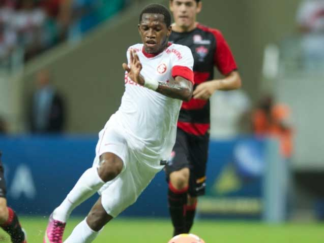 Internacional's attacking midfielder Fred.