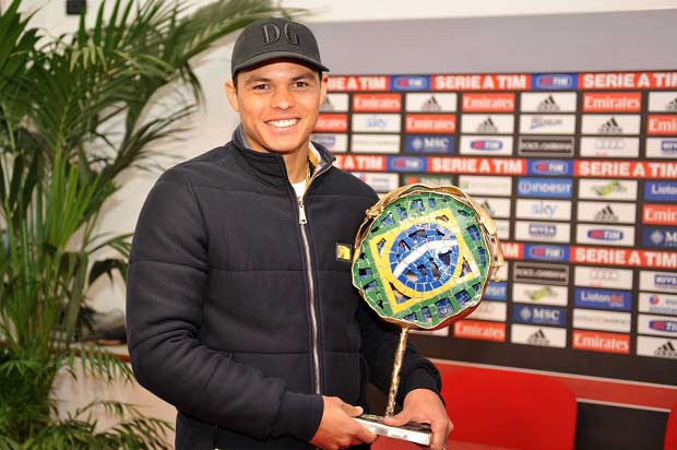 Thiago Silva picks up the 2011 award