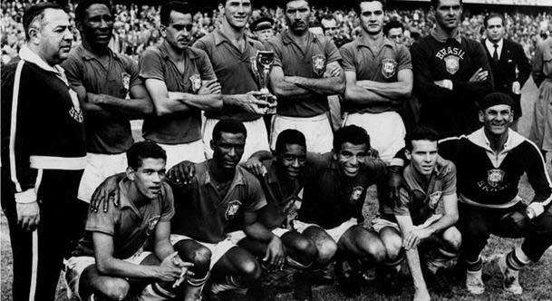 Brazil1958 World Cup Winners