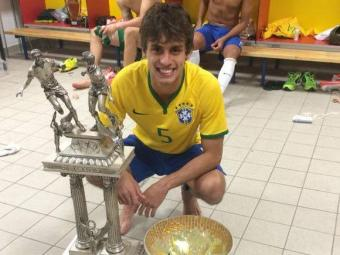 Rodrigo Caio Brazil Toulon 2014 Player of Tournament