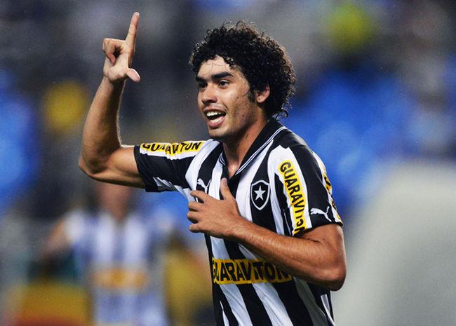 Bruno Mendes of Botafogo celebrates