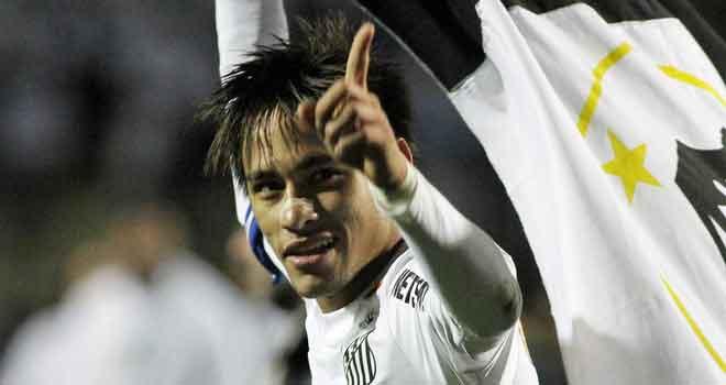 Neymar-at-Santos