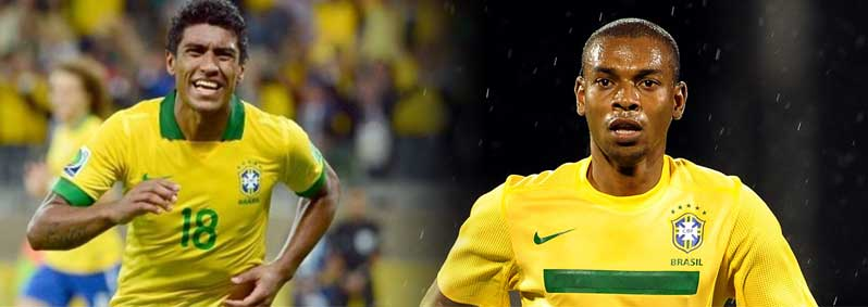 Brazilians Paulinho and Fernandinho are new to the Premier League this season.