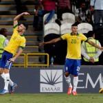 Boschilia & Brazil U17s Take Advantage of Extra Man v Russia