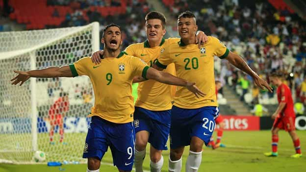Mosquito, Nathan & Kenedy were amongst the most promising players in Brazil's U17s side.