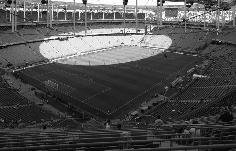 Arena Fonte Nova. One of the World Cup stadiums and home to Brazilian club side Bahia.